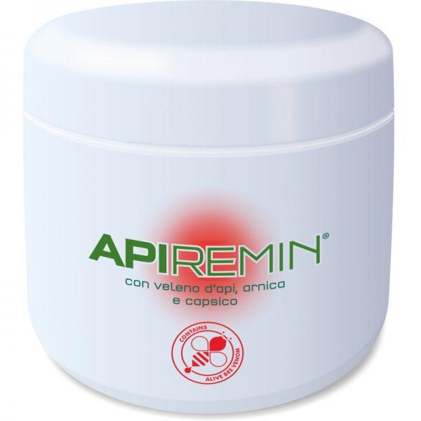 ApiRemin Veleno d'api Arnica e Capsico 500 ml confezione massaggio